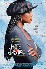 POETIC JUSTICE (1993) ORIGINAL MOVIE POSTER  -  ROLLED