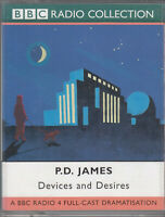 P D James Devices And Desires 2 Cassette Audio BBC Radio 4 Full Cast Drama