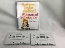Barbara Taylor Bradford A Woman Of Substance Audio Cassette