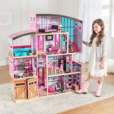 KidKraft Shimmer Mansion With 30 Pieces Of Accessories! Girls Fantasy House New.