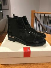Hogl (Hoegl) Patent Leather Ankle Boots 8 / 42 / 10.5