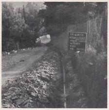 D3687 Tratto di gasdotto vicino Pratolino - Stampa d'epoca - 1940 vintage print