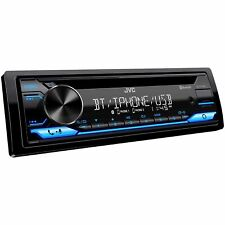 Jvc Kd-T710Bt 1 Din In-Dash Usb Bluetooth Cd Music Player Receiver Car Stereo