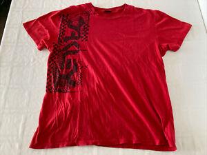 Oakley Men's XL Graphic Red T-Shirt Short Sleeve TS1