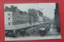 Postcard London Oxford Street LL series Bus 1912