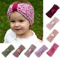 Kids Baby Girls Toddler Knit Turban Headband Hair Band Headwear Accessories New