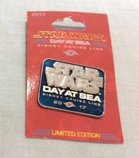 Disney Pin Disney Cruise Line Exclusive limited Star Wars Day at Sea Pin NEW
