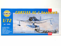 SMER Curtiss SC-1 Seahawk, US NAVY, WW 2, 0866, Bausatz,55 Teile, 1:72,OVP,NEU