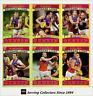 2010 AFL Teamcoach Trading Card Gold Parallel Team Set Brisbane (11)