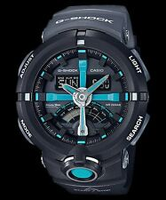 GA-500P-1A Black G-shock Men's Watches Analog Digital Resin Band New