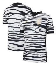 �Msrp$90 New Nike South Korea 2020 Away Soccer Jersey Tiger White/Black Mens Lg