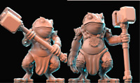 28mm  Warrior Toad Bullywog D&D Bestiary multi listing