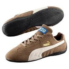 Puma Men's Speed Cat Brown/White Sneaker 14M