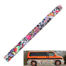 """60""""x20"""" Sticker Bomb Sheet Stickerbomb Suit HOON JDM Car Wrap Skateboard Scooter"""