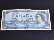 1954  Canadian  $5 Bill