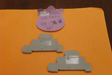 Allen-Bradley 1492-EBTF3 New Gray End Barrier For Terminal Snap-on (Qty 2)