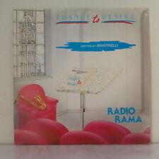 "Radiorama – Chance To Desire  - Vinyl, 12"", 45 RPM  - Italy 1985 - Italo-Disco"