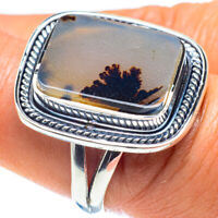 Montana Agate 925 Sterling Silver Ring Size 8.25 Ana Co Jewelry R58842F