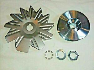 """Corvette  """"Deep V"""" Alternator Pulley Fan Kit  3829387 3846180 High Performance"""