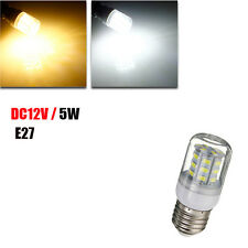 5W E27 White/Warm White 5730SMD 27 LED Corn Light Bulb 12V