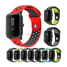 20mm Soft Silicone Sport Wrist Watch Band Strap For Xiaomi Amazfit Bip Youth