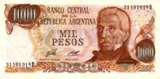 Argentine - Argentina billet neuf de 1000 pesos pick 304b signature 1 UNC