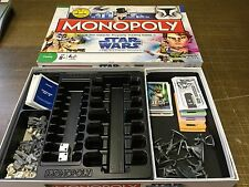 STAR WARS The Clone Wars - MONOPOLY - complete - Limited Edition VGC