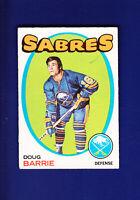 Doug Barrie RC 1971-72 O-PEE-CHEE OPC Hockey #22 (VGEX)(MK) Buffalo Sabres