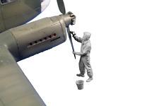 CMK F48359 Resin 1/48 Siebel Si-204/Aero C-3 Rigger Figure
