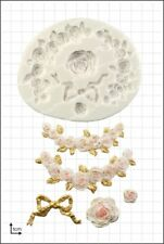 Silicone mould Rose Swags | Food Use FPC Sugarcraft FREE UK shipping!