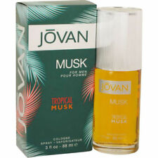 Jovan Tropical Musk for Men by Coty Cologne Spray 3.0 oz - New in Box