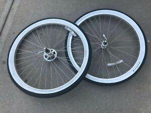 26 inch Araya mountain bike wheelset made in Japan