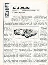 1953 1954 Lancia D-24 D24 Racer  - Classic Original Article H53