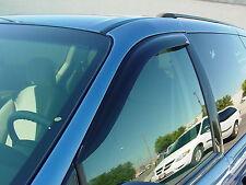 1996 - 2007 Dodge Caravan 2-Piece Tape-On Wind Deflector Shades