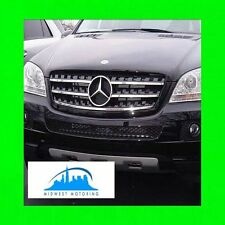 2006-2012 MERCEDES W164 ML CHROME TRIM FOR GRILL GRILLE 5YR WARRANTY