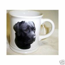 Black Lab Sculpted Ceramic Dog coffee Mug