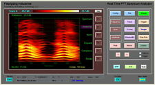 Real Time FFT Audio Spectrum Analyzer Oscilloscope Equalizer, NOW Spectrograph !