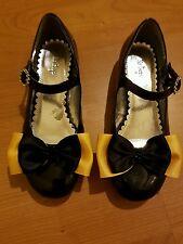 Madelienas SHOE CLIPS: SATIN RIBBON My Inspired Emma  Bow  (Style 4)