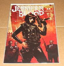 Jennifer Blood #1 1st Print Garth Ennis