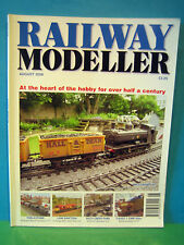 RAILWAY MODELLER AUGUST 2008 # GWR GARDEN Rly ~ GNR HULL in P4 ~ S&D > SEE PICS