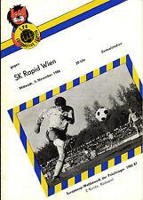CWC EC II 86/87 1. FC Lok Leipzig - SK Rapid Wien, 05.11.1986