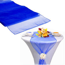 "30*275CM Hot Sheer Organza Table Runner Party Decor Wedding Supply DIY 12""X 108"""