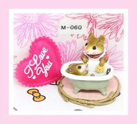 ❤️Wee Forest Folk M-060 Mom & Squeaky Clean 1981 Bath Sage Tub Rose Pink Dress❤️