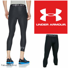 Under Armour Heat Gear Mens Compression Training Base Layer 3/4 Tights S-2XL NWT