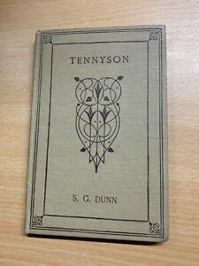 "1924 ""TENNYSON SELECT POEMS"" POETRY SMALL THIN HARDBACK BOOK (P2)"