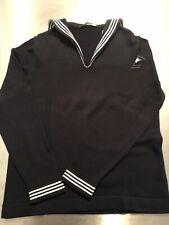Moschino Sailor Sweater Medium M/L Mint Unisex Dark Navy Nautical Ptown Yacht