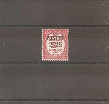 TIMBRE MONACO 1937 N°152 NEUF* MH COTE +23 EUROS