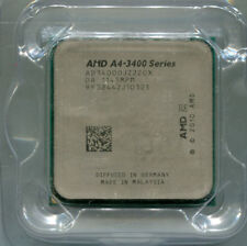AMD A4-3400 socket FM1 dual core CPU AD3400OJZ22GX 2.7 GHz Llano HD 6410D GPU