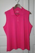 NWT Vineyard vines womens Performance sleeveless Polo Shirt size XL