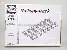 Planet Models Railway-Track 140mm (3) 1:72 Resin MV066 modeling static